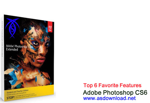 Top 6 Favorite Features photoshop cs6