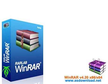 دانلود نسخه جدید WinRAR v4.20 x86/x64 همراه با کرک