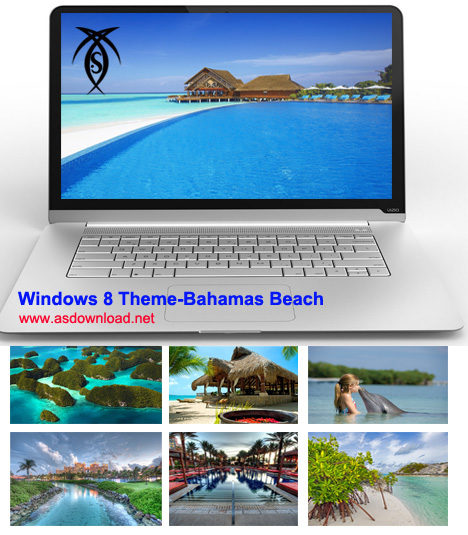 Windows 8 Theme-Bahamas Beach
