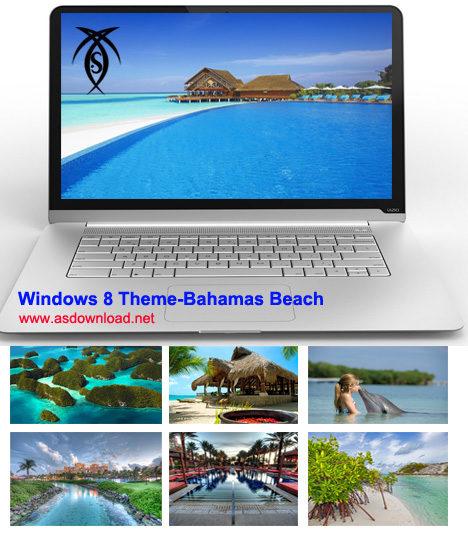 Windows 8 Theme-Bahamas Beach
