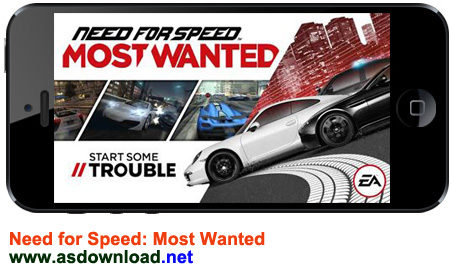 دانلود Need for Speed Most Wanted - خطرناک ترین بازی رالی آندروید + فایل دیتا