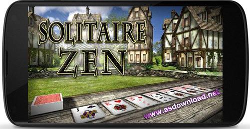 ورق بازی برای آندروید - دانلود بازی Solitaire Zen