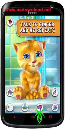 Photo of دانلود بازی محبوب صحبت کردن زنجبیل برای آندروید android Talking Ginger