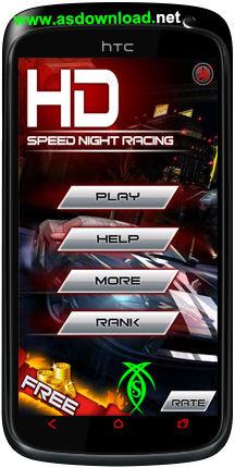 دانلود بازی مسابقه سرعت در شب - Speed Night Racing HD برای آندروید