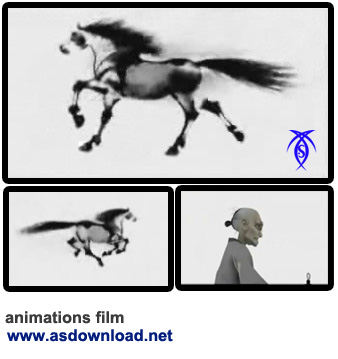 horse animations film