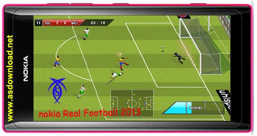 دانلود بازی Real Football 2013 برای نوکیا