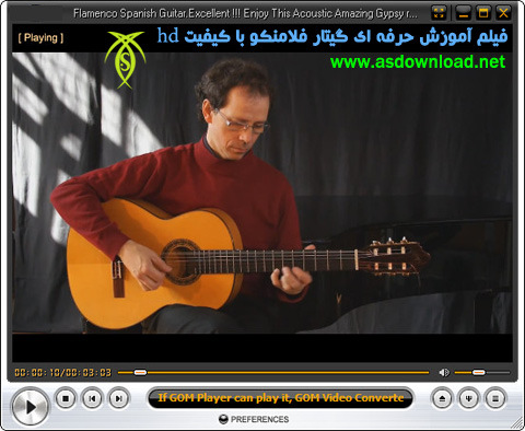 video-Flamenco Spanish Guitar