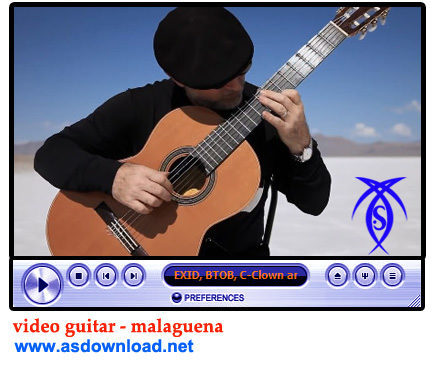 video guitar - malaguena