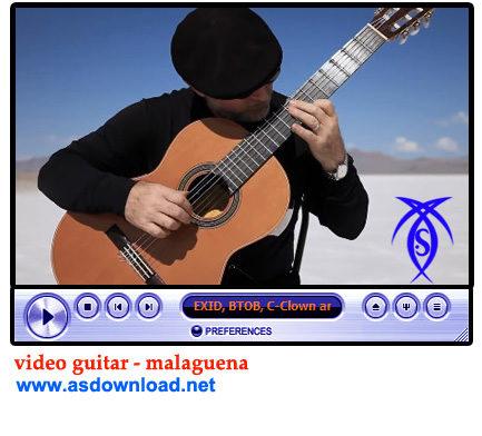 دانلود فیلم آموزش گیتار  Malaguena- ملودی مالاگوئنا