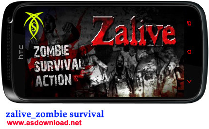 بازی بقای زامبی - Zalive برای آندروید