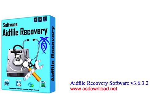 نرم افزار بازیابی اطلاعات حذف شده- دانلود Aidfile Recovery Software v3.6.6.9