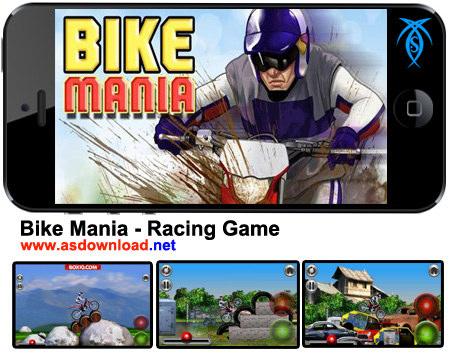 دانلود بازی موتور سواری Bike Mania برای آندروید
