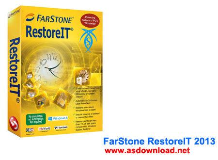 نرم افزار بازیابی ویندوز – دانلود FarStone RestoreIT 2013