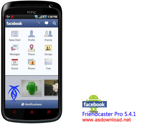 Friendcaster Pro 5.4.1- android