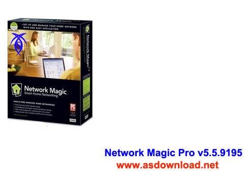 دانلود نرم افزار مدیریت شبکه های بی سیم- Network Magic Pro v5.5.9195