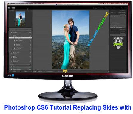 دانلود فیلم آموزش فتوشاپ sc6 - تغییر بک گراند تصاویر و کار با عکس