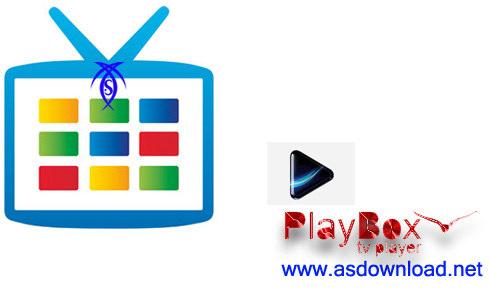 تماشای شبکه های تلوزیونی با PlayBOX TV Player 1.5
