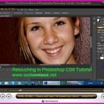 فیلم آموزش رتوش حرفه ای عکس با فتوشاپ cs6 – با کیفیت hd