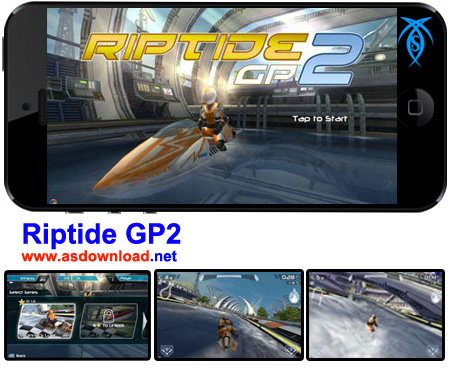 دانلود بازی مسابقه سرعت بر روی آب - Riptide GP2