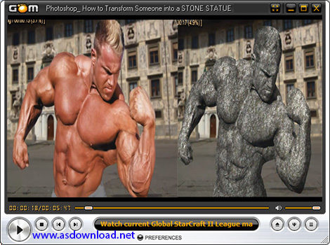 photoshop cs6 - design stone statue