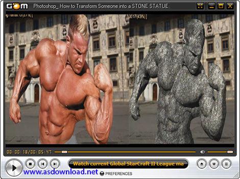 دانلود فیلم آموزش حرفه ای تبدیل یک انسان به مجسمه سنگی در نرم افزار فتوشاپ cs6