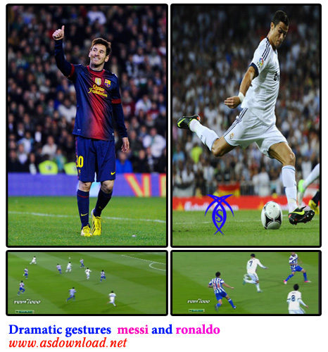 super goal ronaldo and messi