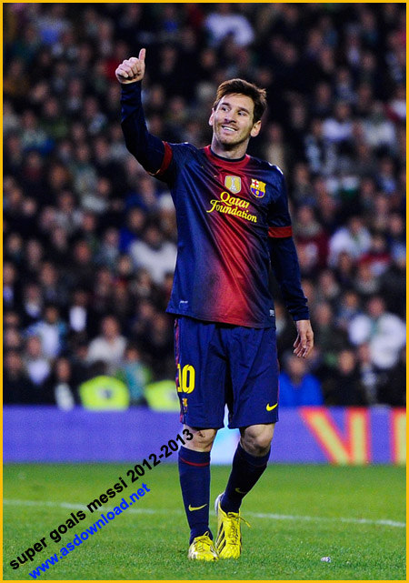 super goals messi 2013