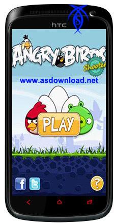 دانلود نسخه جدید بازی پرنده گان خشمگین-Angry Birds Shooter