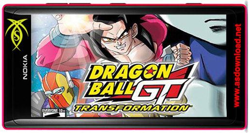 دانلود بازی Dragon ball GT: Transformation برای نوکیا با فرمت GBA