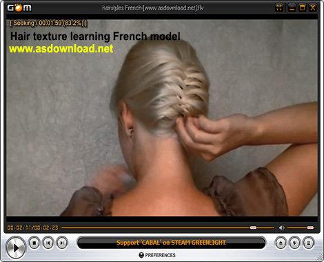 دانلود فیلم آموزش بافت موی زنانه به سبک فرانسوی