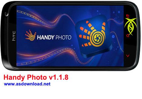 دانلود نرم افزار عکاسی برای آندروید Handy Photo v1.1.8