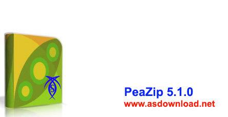 دانلود نرم افزار فشرده سازی انواع فایل PeaZip 5.1.0