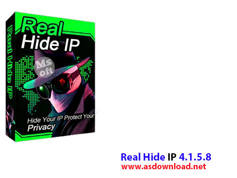 Real Hide IP v4.3.7.2-دانلود نرم افزار مخفی سازی ip برای ورود مخفی اینترنت