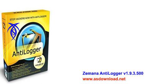دانلود نرم افزار جلوگیری از سرقت اطلاعات Zemana AntiLogger v1.9.3.500