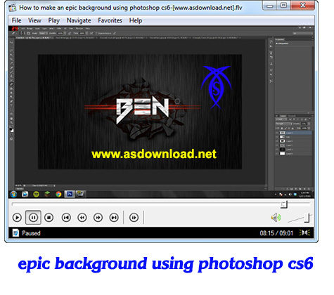 epic background photoshop cs6