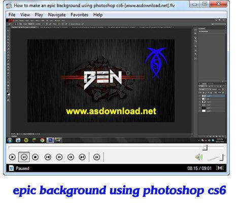 epic background photoshop cs6