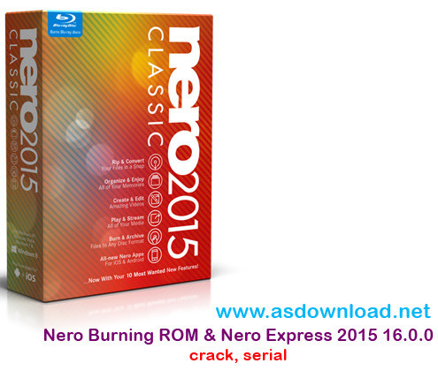 Nero Burning ROM & Nero Express16