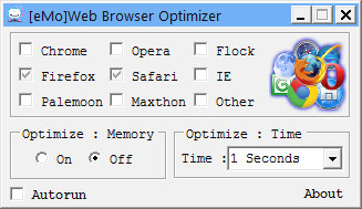 eMo Web Browse Optimizer 2.0.0.2-کاهش مصرف رم سیستم هنگام کار با اینترنت
