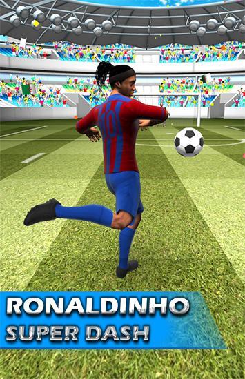 Ronaldinho super dash- بازی رونالدینیو فوق العاده برای اندروید