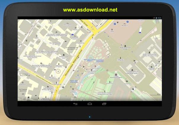 MAPS.ME Pro- offline maps v4.1.3-نرم افزار نمایش نقشه آفلاین تمامی کشورها برای اندروید