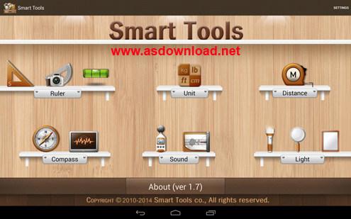 Smart tools - v1.7.4 - قوی ترین نرم افزار اندازه گیری برای اندروید