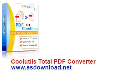 دانلود نرم افزار تبدیل فرمت pdf به سایر فرمت ها- CoolutilsnTotal PDF Converter 5.1.92+serial