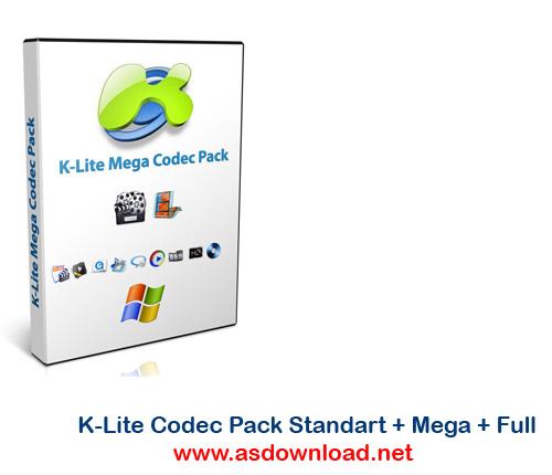 K-Lite Codec Pack Standart + Mega + Full