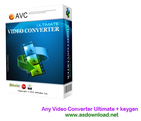 Any Video Converter Ultimate + keygen