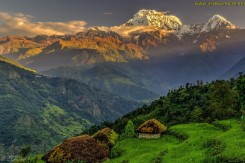 landscape of South East Asia, the Himalayas (3)