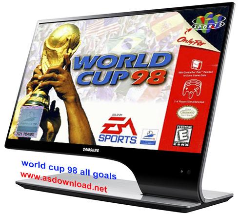 دانلود فیلم تمامی گل های جام جهانی 1998 فرانسه-1998 FIFA World Cup All Goals
