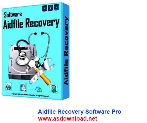Aidfile Recovery Software 3.6.7.6 + keygen -نرم افزار بازیابی اطلاعات