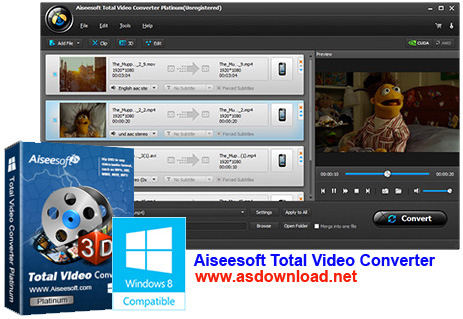 Aiseesoft Total Video Converter Platinum 7.1