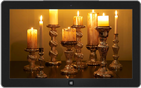 Candlelight theme windows 8
