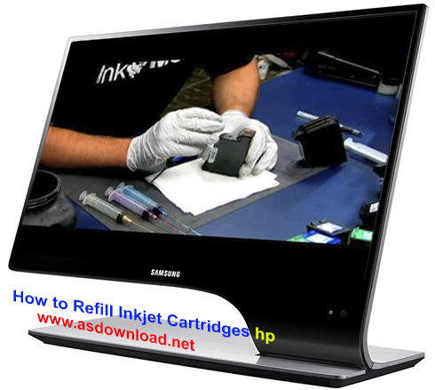 How to Refill Inkjet Cartridges hp